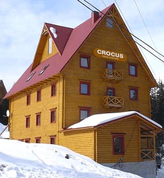 Такая теплая гостиница Крокус…